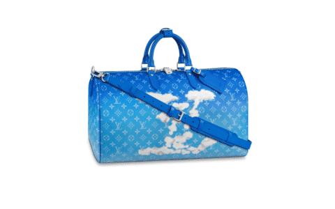 LV M45428 蓝天白云朵系列Keepall 50旅行袋