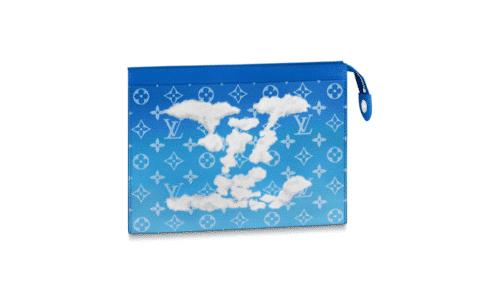 LV M45480 蓝天白云朵系列Pochette Voyage手拿包