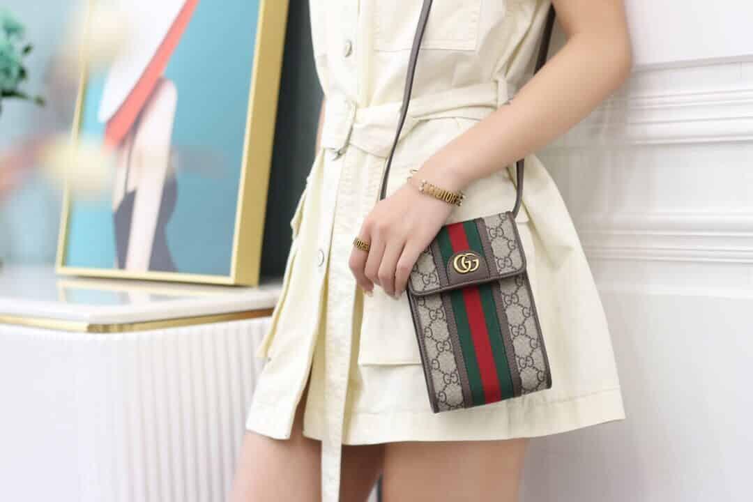 Gucci Ophidia mini bag 手机包 625757 96IWT 8745