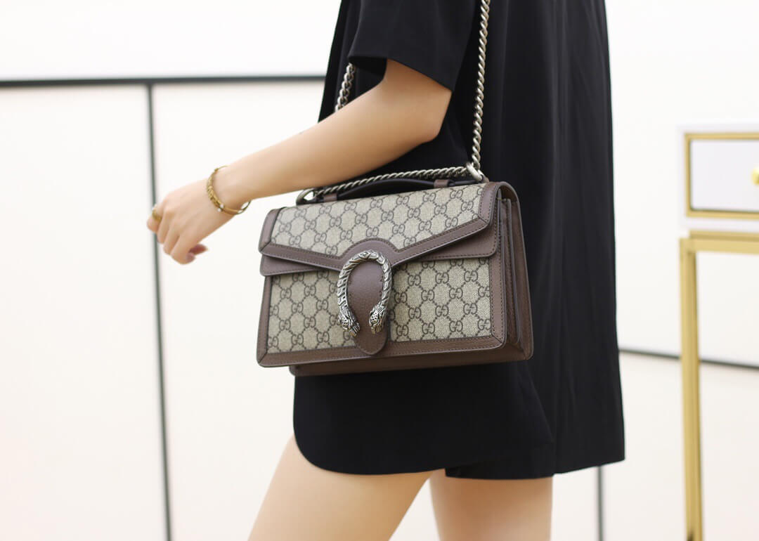 Gucci Dionysus GG top handle bag 手提包 621512