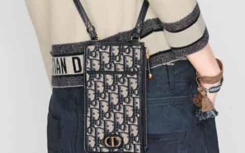 Dior Oblique 印花 30 Montaigne 长款钱包 S2090UTZQ_M928
