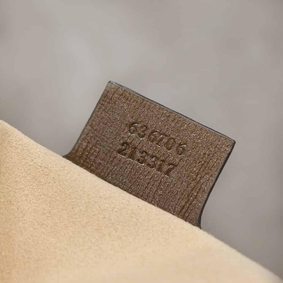 Gucci Jackie 1961系列小号手袋 636706 HUHHG 8565