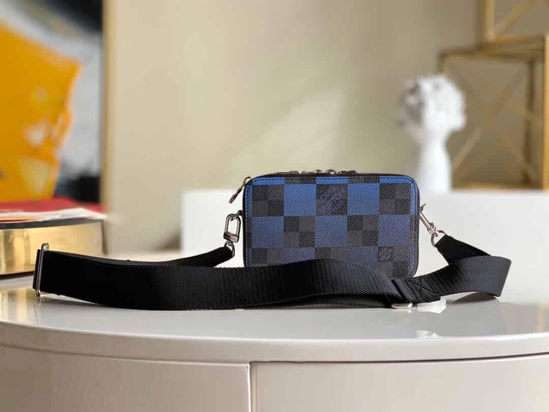 LV N60414 Alpha Wearable 单肩斜挎相机包