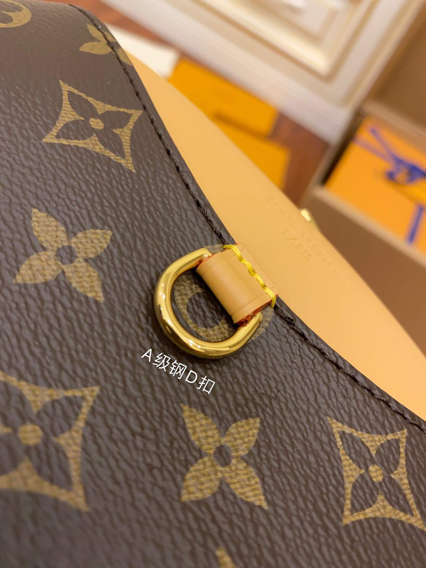 Louis Vuitton LV M45528 Deauville Mini相机包单肩斜挎包