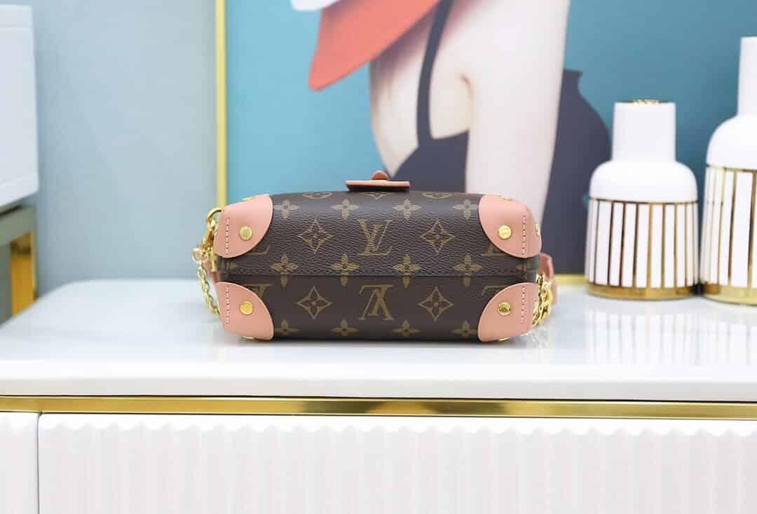 Louis Vuitton LV M45531 Petite Malle Souple 斜跨盒子包