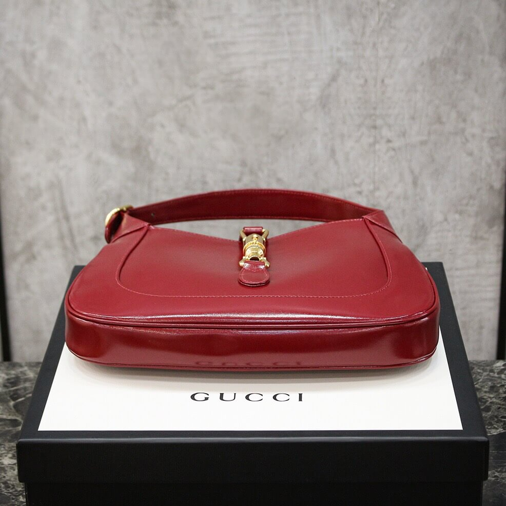 Gucci Jackie 1961系列小号单肩斜跨包 636709 10O0G 6638