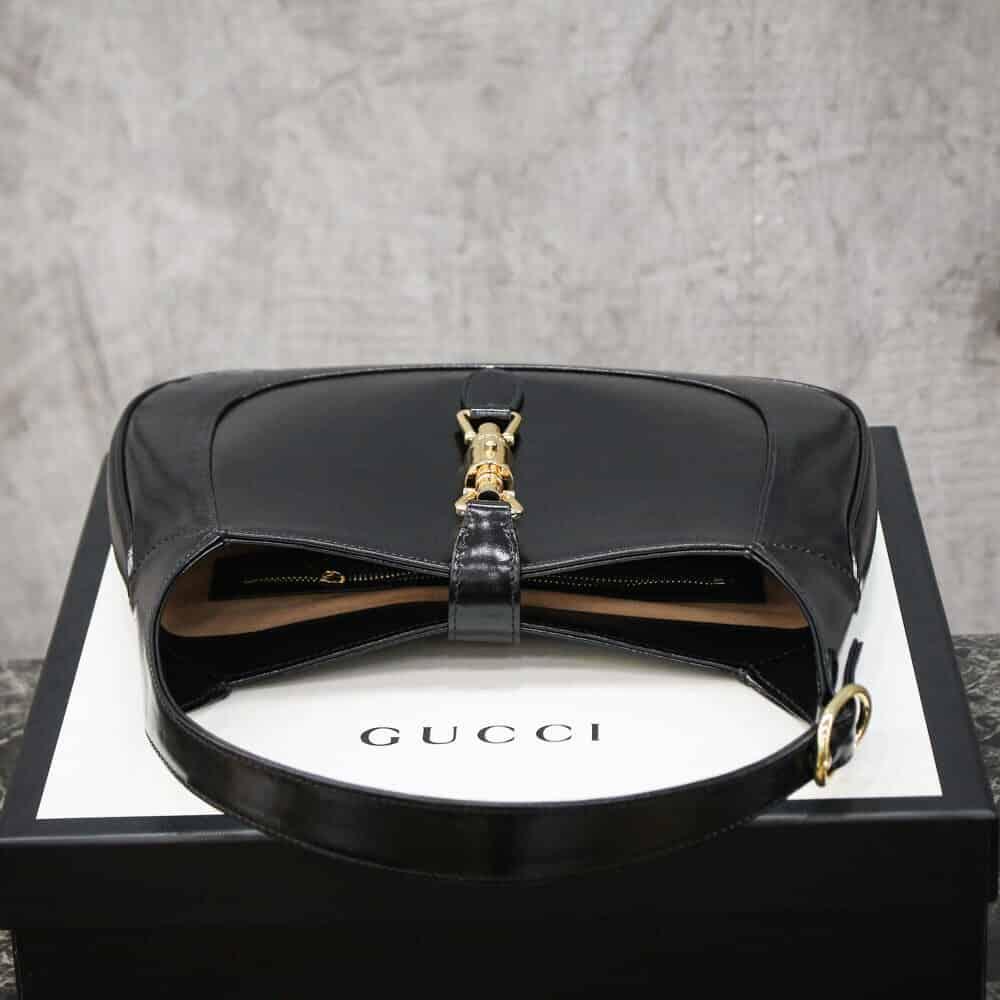 Gucci Jackie 1961系列小号单肩斜跨包 636709 10O0G 1000