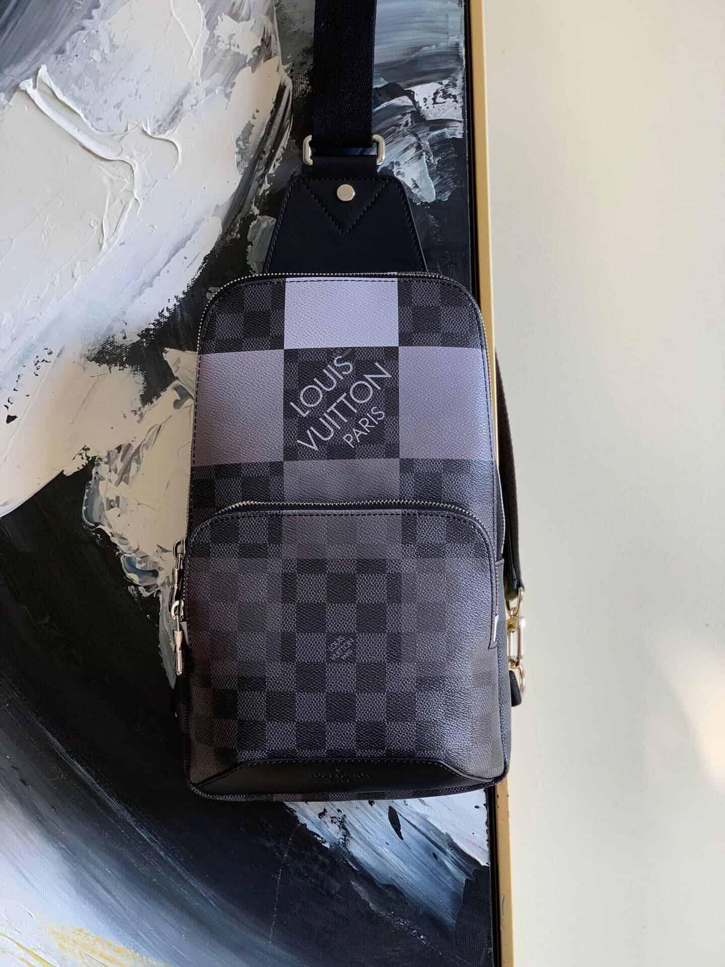 Louis Vuitton LV Avenue渐变色单肩包 N40403 N40404