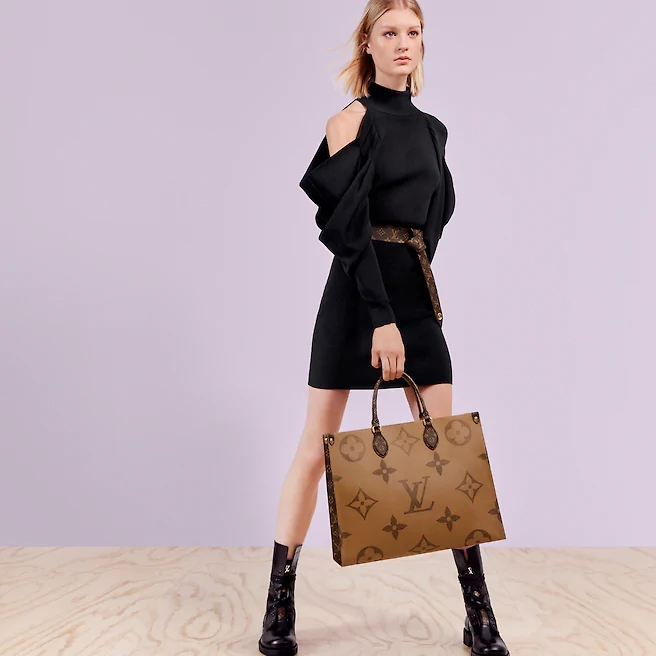 Louis Vuitton LV M45320 Onthego 手提包购物袋