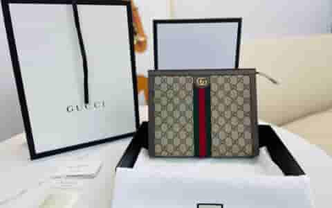 Gucci古驰 Ophidia系列手拿包 625549 96IWG 8745