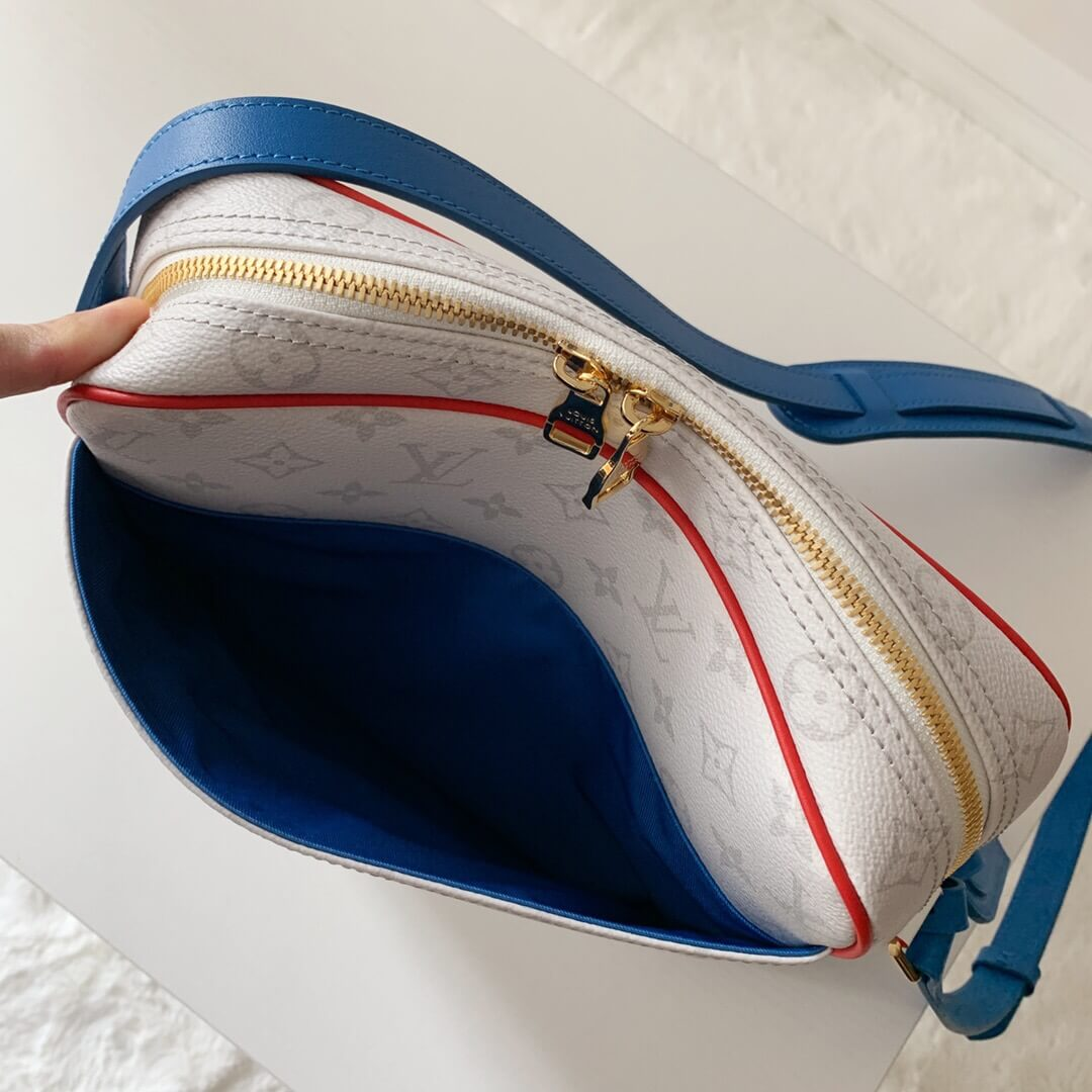 Louis Vuitton LV M45583 xNBA Nil 联名系列邮差包