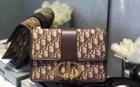 Dior 30 Montaigne棕色Oblique蒙田包 M9203UTZQ_M747