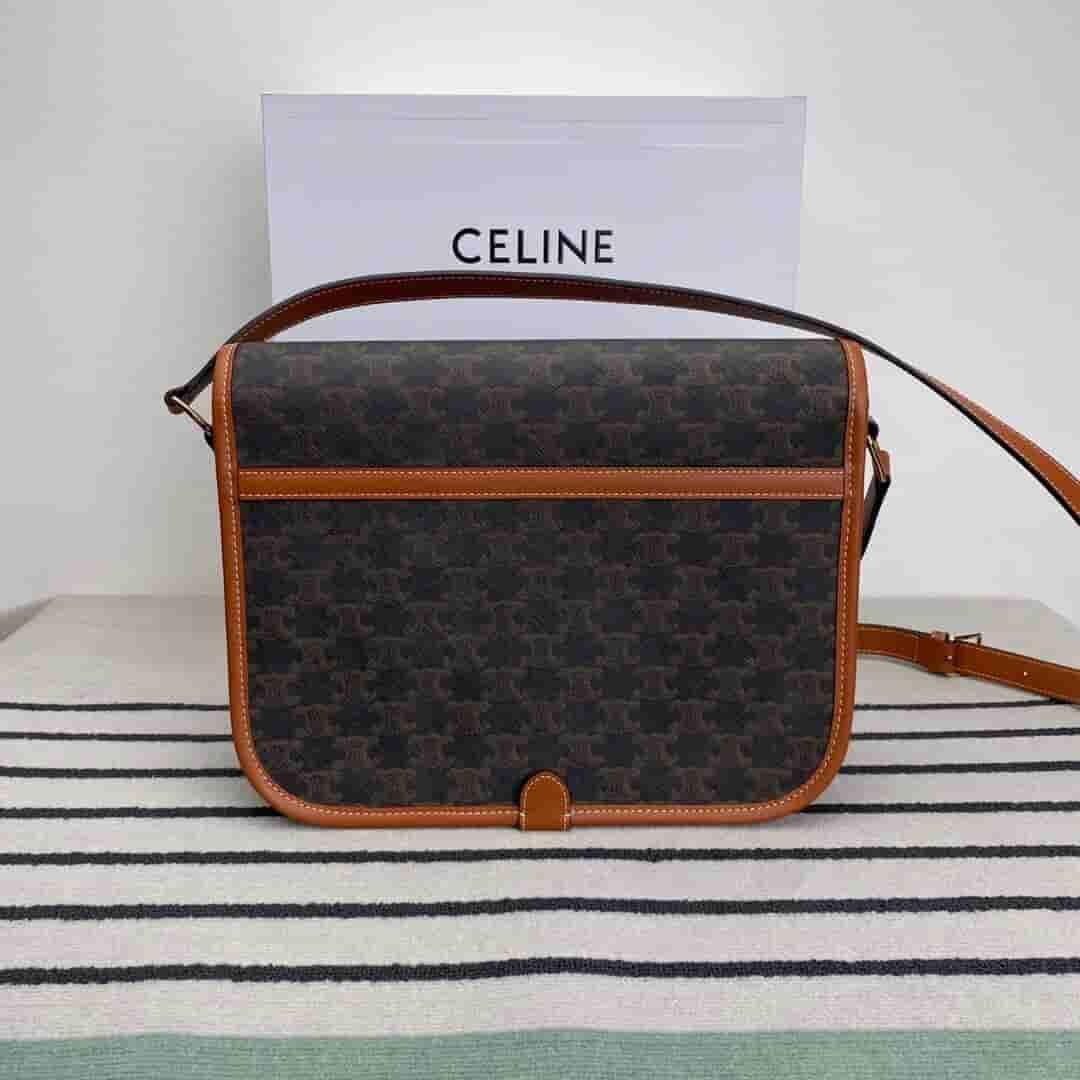 Celine Folco 标志印花邮差包 193902BZK.04LU