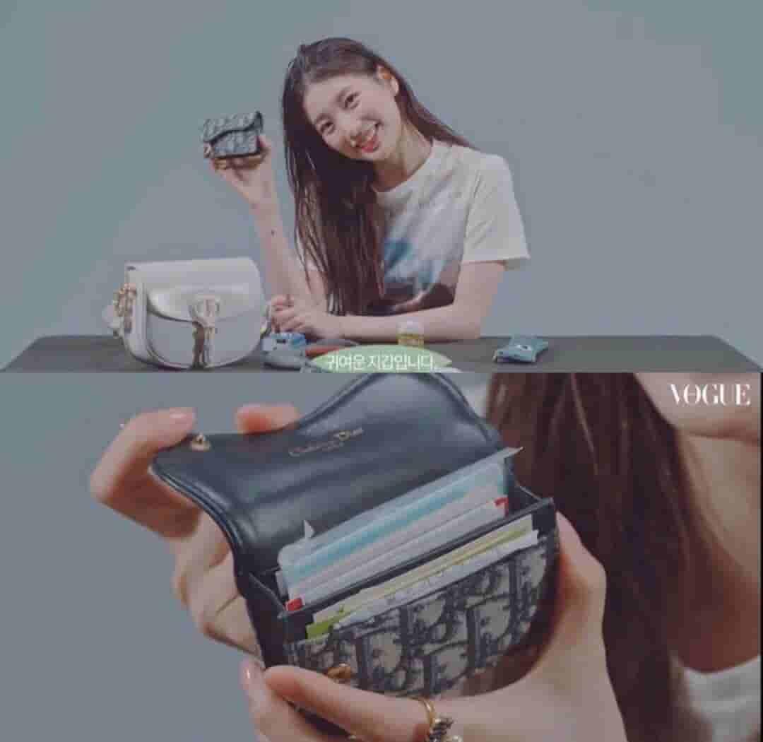 Dior 蓝色Oblique印花马鞍翻盖卡夹 S5611CTZQ_M928